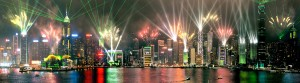 A Symphony of Lights, Laser Light Show, Hong Kong Architectural Lighting - Laservision
