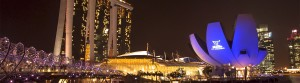Sands for Singapore, Marina Bay Sands, Video Mapping, Laser Projection - Laservision