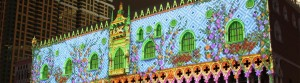 Venetian Macao, New Years Eve, 3D Video Mapping - Laservision