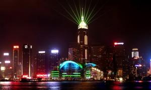 Symphony of Lights, Laser Light Show, Hong Kong - Laservision
