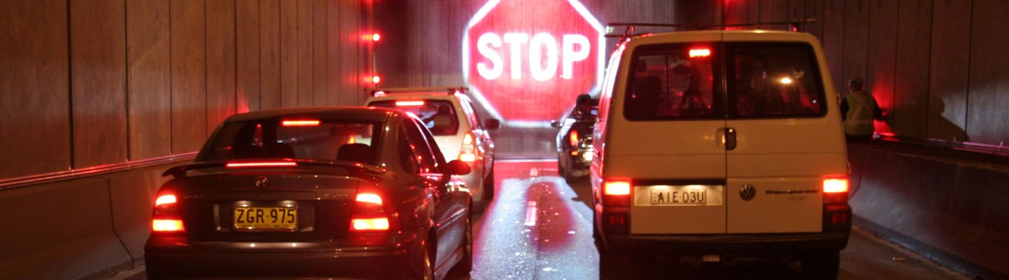 Softstop Barrier System, Water Screen, Traffic Tunnel Safety - Laservision