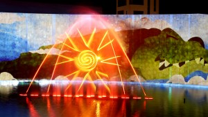 Pearl of Sochi, Laser, Video Mapping, Musical Water Fountain, Water Screens - Laservision