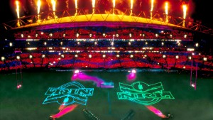 NRL Grand Final, Laser and Light Show, Multimedia Attraction - Laservision