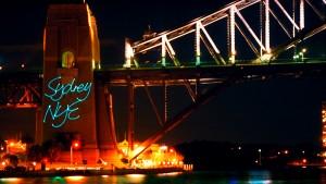 Sydney Harbour, Laser Billboarding, Multimedia Tourist Attraction - Laservision