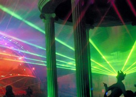 Everland, Light, Laser, Sound and Water Screen Multimedia Tourist Attraction - Laservision