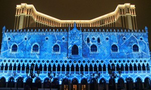 Winter in Venice, 3D Video Mapping, Multimedia Sound and Light Show - Laservision