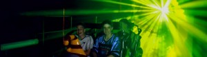 Movie World, Scooby Doo Roller Coaster, Laser Tunnel Multimedia Tourist Attraction - Laservision