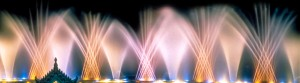 Spirits of Sentosa, Laser, Light, Sound, Water Screen, Musical Fountain Attraction - Laservision