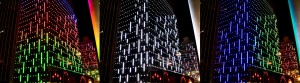 Nexxus Building, Hong Kong, energy efficient LED Architectural Lighting - Laservision
