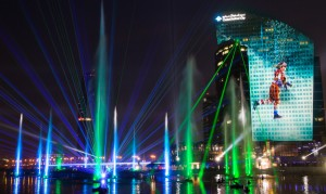 Laservision - Dubai Festival City - IMAGINE